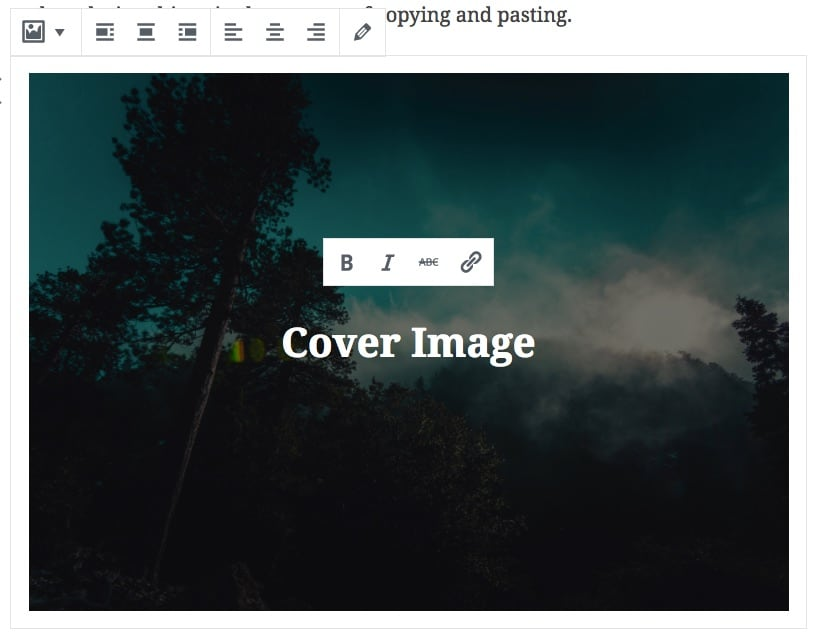 The Complete Guide to the Gutenberg Cover Image Block